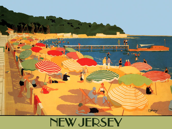 Travel Tourism Vacation Vintage Poster